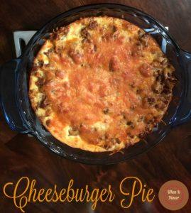 Cheeseburger Pie