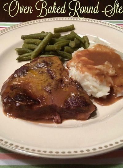 Oven Baked Round Steak