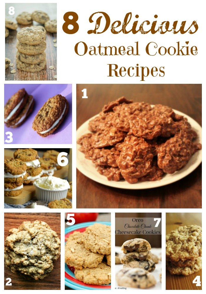 Oatmeal Cookie Recipe Roundup – 8 Great Recipes!
