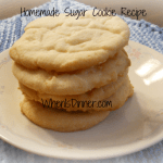 Homemade Sugar Cookies