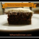 Butternut Squash Chocolate Cake