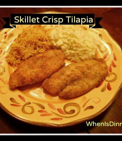 Seafood Challenge Meals
