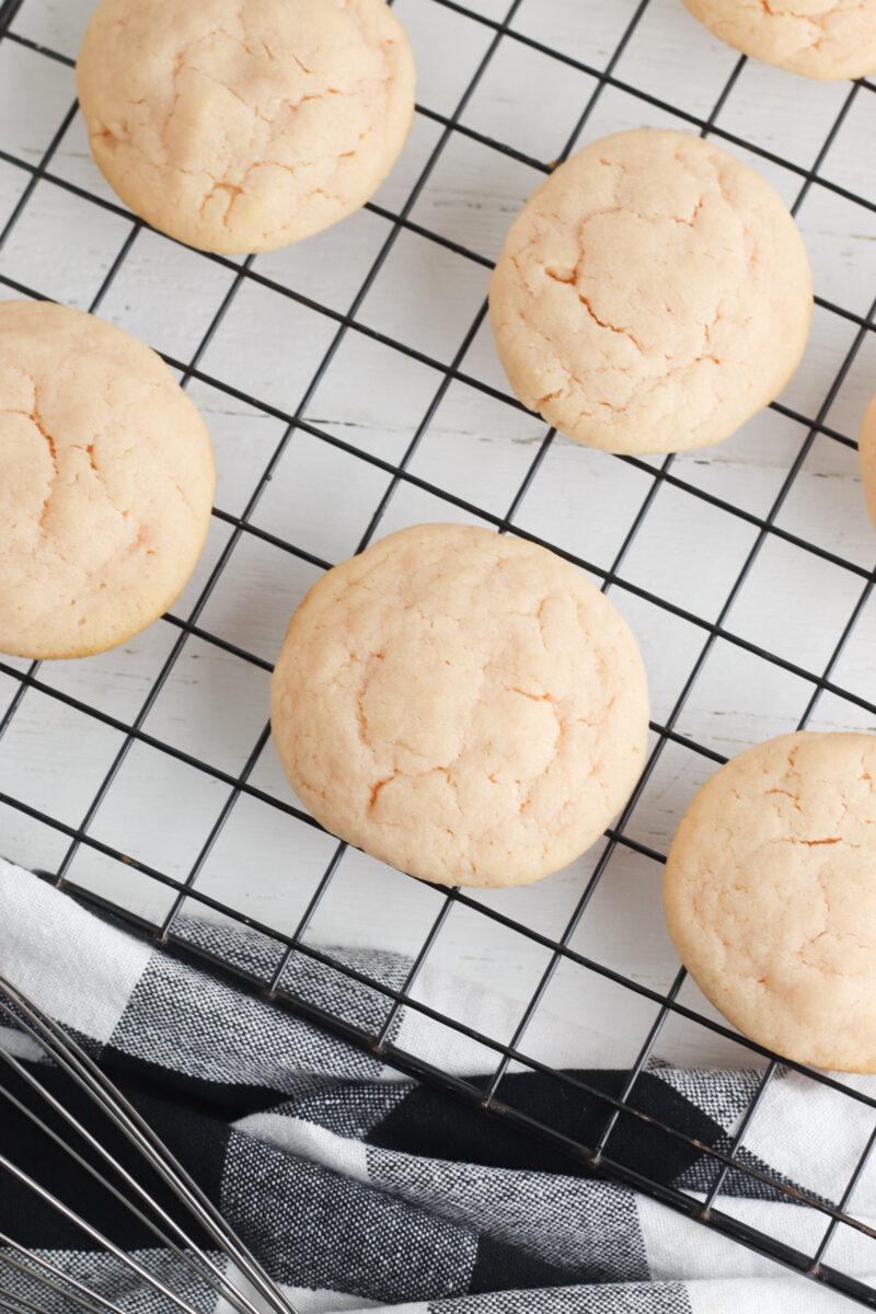 Homemade Pink Lemonade Cookies