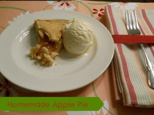 Homemade Apple Pie from When Is Dinner