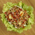 Pei Wei: Sriracha Pineapple Pork Lettuce Wraps