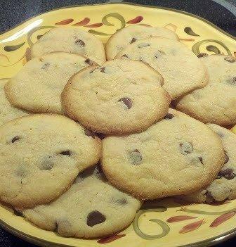 Cake Mix Chocolate Chip Cookies