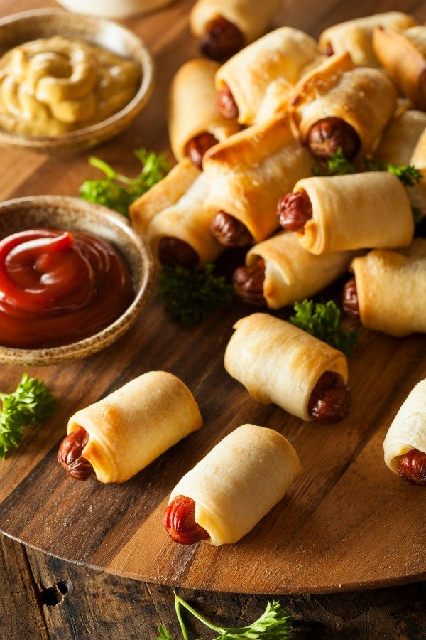Pigs in a Blanket Cocktail Sausages