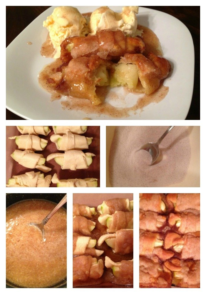 Apple Dumplings Step by Step