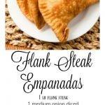 Flank Steak Empanadas