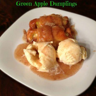 Green Apple Dumplings