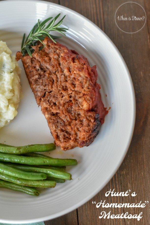 Hunt's Homemade Meatloaf