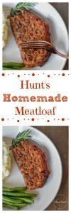 Hunts Homemade Meatloaf