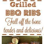 Slow Cooked Grilled BBQ Ribs