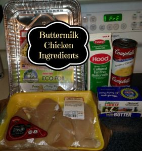 Buttermilk Chicken Ingredients