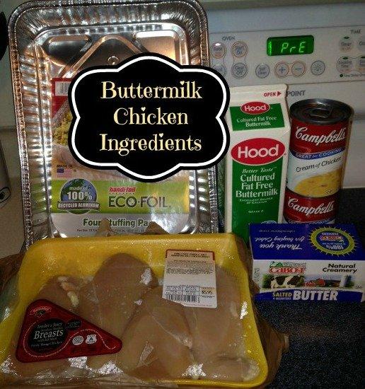 Buttermilk Chicken Ingredients