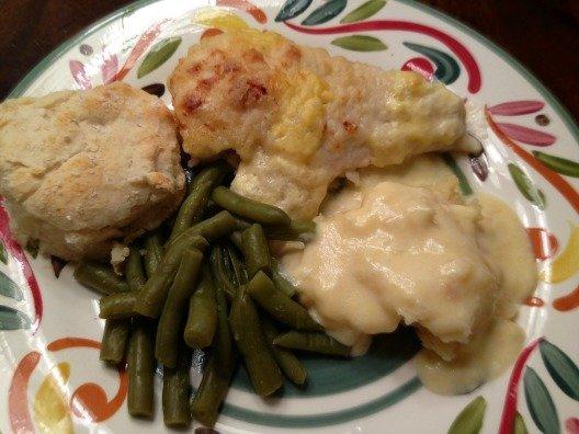 Buttermilk Chicken Plated