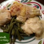 Homemade Buttermilk Chicken & Gravy