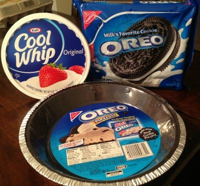 Oreo Pie Ingredients