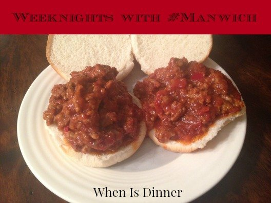 Weeknights with #Manwich