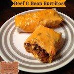 Beef and Bean Burritos