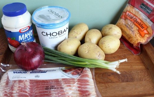 Loaded Baked Potato SaladIngredients