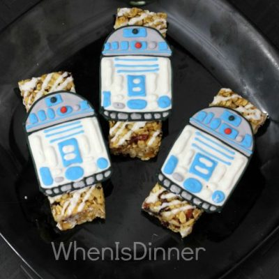 R2D2 granola bars