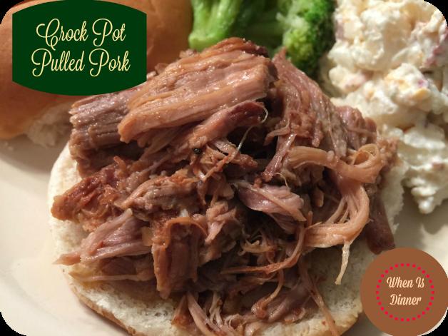 Crock Pot Pulled Pork