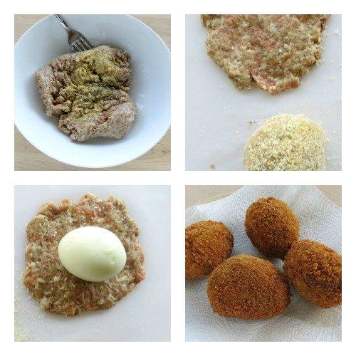 Scotch Eggs Process Pics