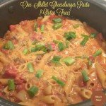 One Pot Cheeseburger Pasta {Gluten Free}