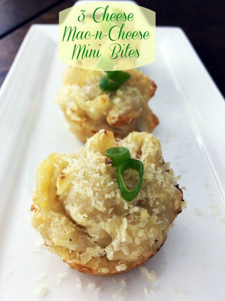 3-Cheese Mac-N-Cheese Mini Bites