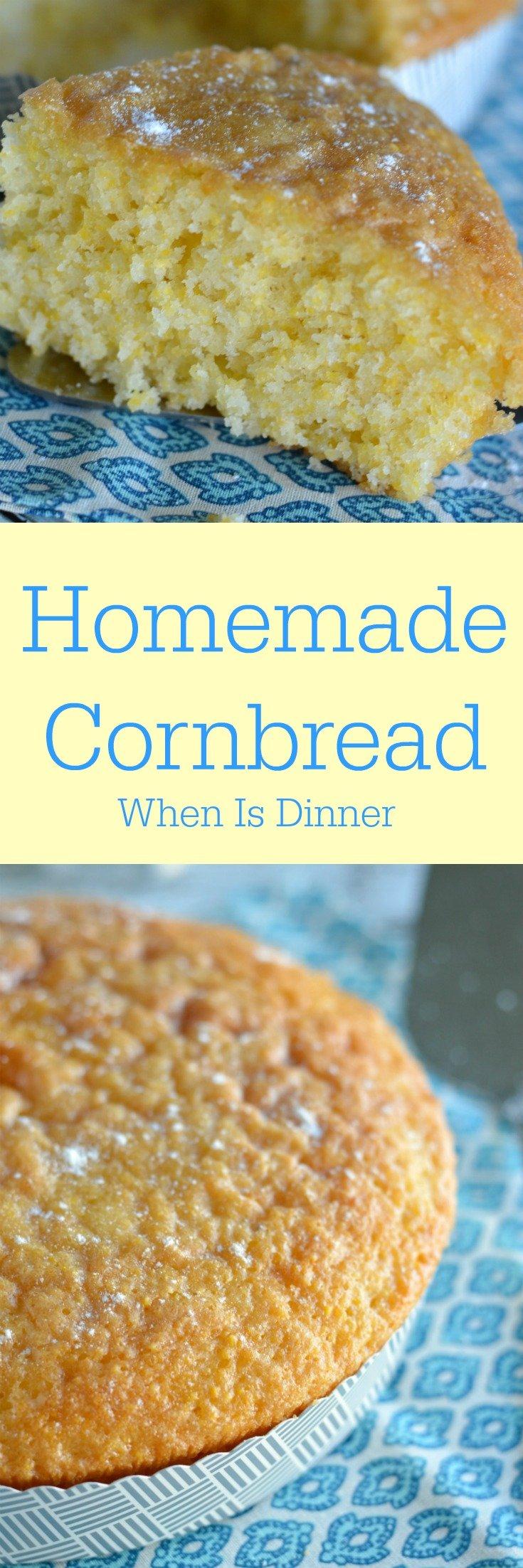 Homemade Cornbread - When is Dinner