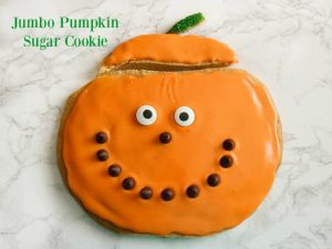 Jumbo Pumpkin Sugar Cookie