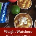 Weight Watchers Mini Apple Pies