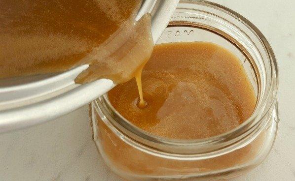 6 Min Salted Caramel Sauce