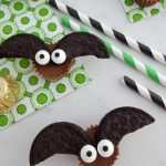 Chocolate Peanut Butter Bat Bites