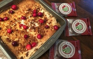 Cake Mix Cranberry Squares Fail