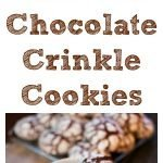Cake Mix Chocolate Crinkle Cookies