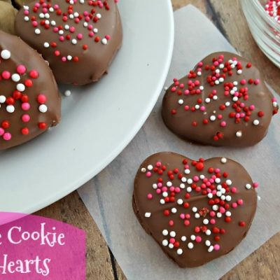 No Bake Chocolate Cookie Dough Hearts