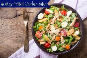 Healthy Grilled Chicken Salad
