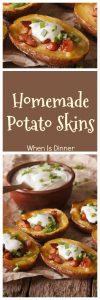 Homemade Potato Skins