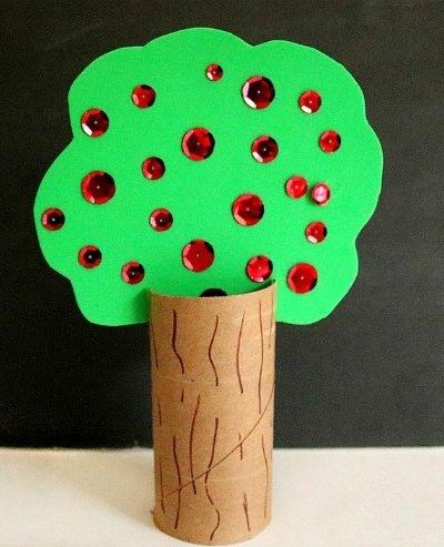 Apple Tree Kids Craft