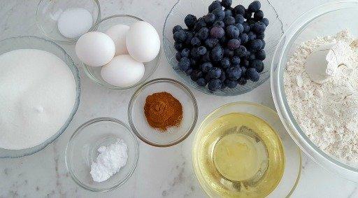 Blueberry Breakfast Bread Horizontal
