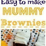 Mummy Brownies Pin