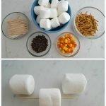 Marshmallow Hot Cocoa Snowman