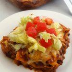 Mexican Lasagna (Gluten Free)