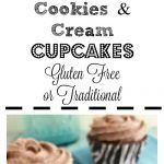 Cookies & Cream Cupcakes {Gluten Free}