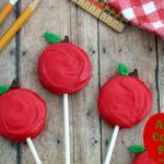 Apple Cookie Pops {Oreos or Gluten Free}
