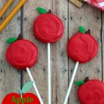 Apple Cookie Pops