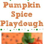 Pumpkin Spice Playdough