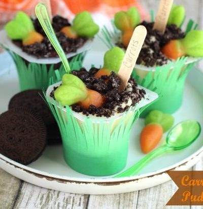 Carrot Garden Pudding Pops
